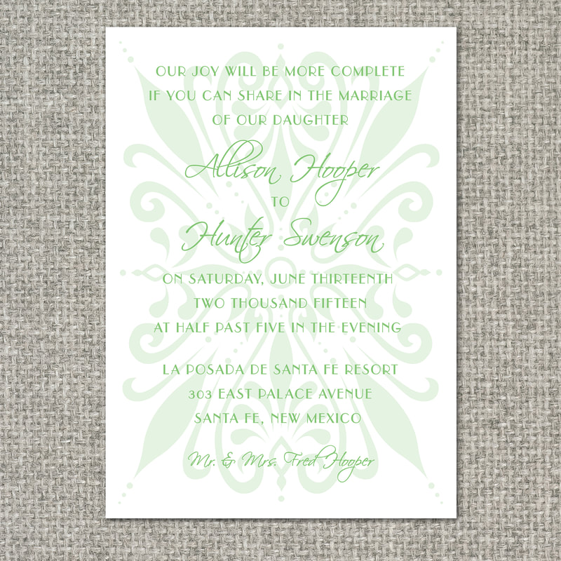 template invitation designs - freebird paperie graphic design